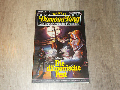 Damona King - Band 40 - Die dämonische Pest - Mike Shadow