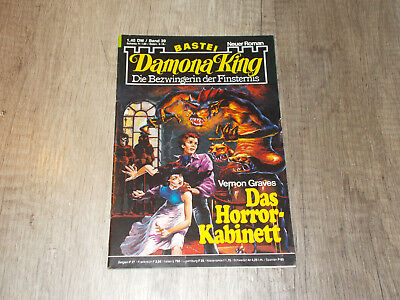Damona King - Band 39 - Das Horror-Kabinett - Vernon Graves