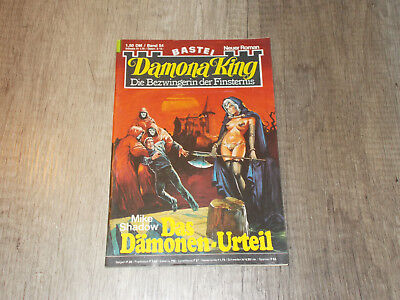 Damona King - Band 54 - Das Dämonen-Urteil - Mike Shadow
