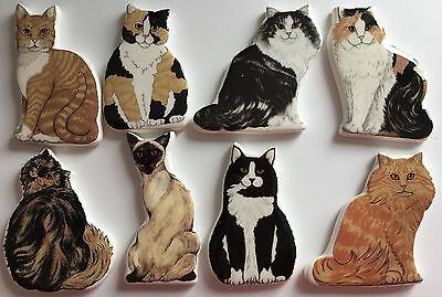 Cat Fridge Magnet Cermic Perfect For Xmas Birthday Gifts Etc