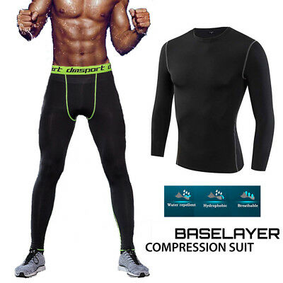 Mens Thermal Underwear Set Long Johns Base Layers Trousers S M L XL XXL XXXL C0