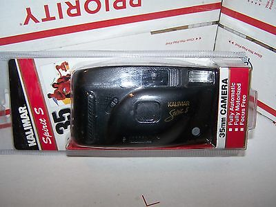 Kalimar Spirit S 35Mm Camera-Fully Automatic,focus Free-Fully Motorized-New