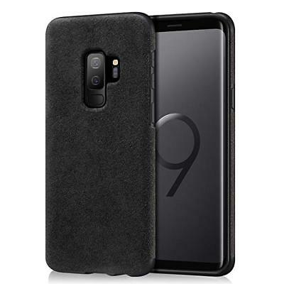 New OEM Samsung Galaxy S9 Alcantara Case, Black - US Retail Packing Original