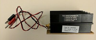 Mini Circuits ZHL-2-8-S-SMA RF Amp 10-1000Mhz +35 dB near 1W Out with 1 mW In