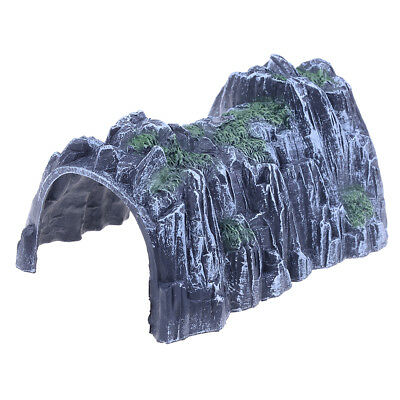 Plastic 1:87 Scale Model Toy Train Railway Cave Tunnels Sand table Model toy  SE
