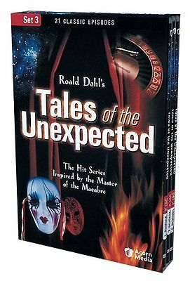 Tales of the Unexpected - Set 3 (DVD, 2005) Factory Sealed