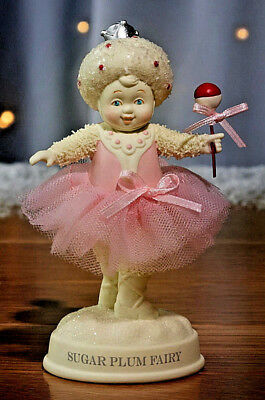 Dept 56*SNOWBABIES SUGAR PLUM FAIRY*New 2018*NIB*Ballet*NUTCRACKER SUITE*6002853
