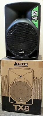 Alto TX8 2-way active ported speaker. Excellent condition. Purchased March 2017.