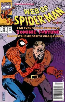 Web of Spider-Man (1st Series) #71 1990 VG Stock Image Low Grade