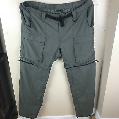 Womens Official Boy Scouts of America Switchback Zip Off Pants Ladies 2XL XXL