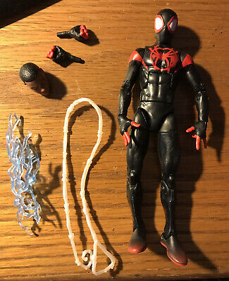 "Marvel Legends 6"" Into the Spider-Verse Miles Morales Ultimate Spider-Man Loose"