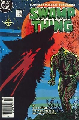Swamp Thing (2nd Series) #40 1985 FN Stock Image
