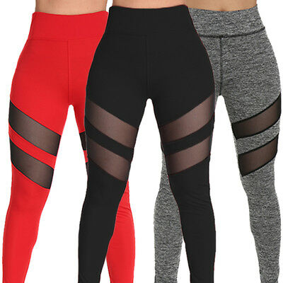 Womens Sports YOGA Workout Gym Fitness Leggings Pants Athletic Clothes Hot M899