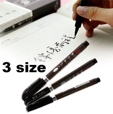 X3 Chinese Pen Japanese Calligraphy Writing Art Script Painting Tool Brush Set