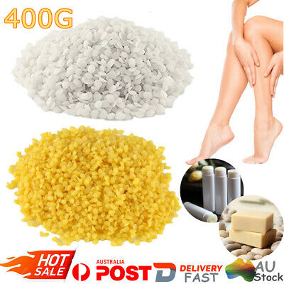 Pure Beeswax Pellets Drops Cosmetic Beads Candle Soap Food Wrap Bees Wax 400g