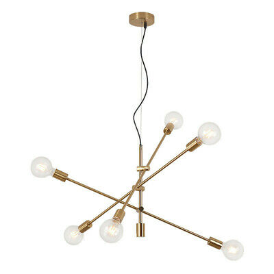 check out cf41c db413 MODERN GOLD HANGING Pendant Lamp Chandelier Black Ceiling Light Dinning  Room New