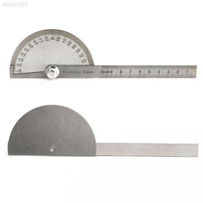 3644 32A0 Metal 180 Degree Protractor Angle Finder Arm Measuring Ruler Machinist