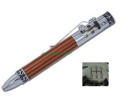 Woodturning MINI GEAR SHIFT Pen Kit in either Gold / Chrome or Gun Metal