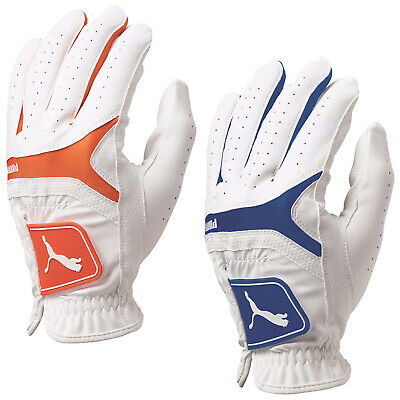 Puma Mens Sport Performance Player Left Hand Golf Glove MLH White Cobra