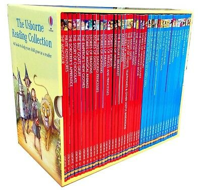 The Usborne Reading Collection 40 Children Books BOXSET Learn to Read