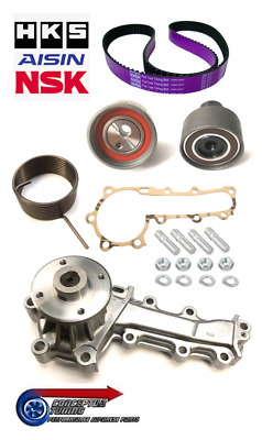 HKS Cambelt / Timing Belt Kit & Water Pump - For R33 GTS-T RB25DET Skyline