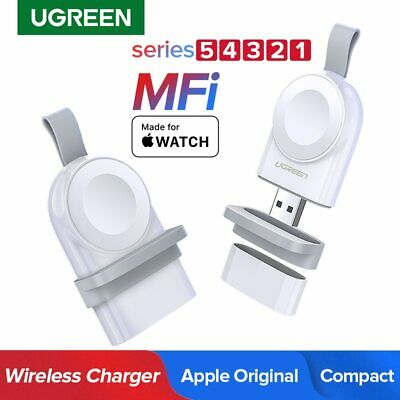 Ugreen MFi Certified Wireless Magnetic USB Fast Charger for Apple Watch Series 4