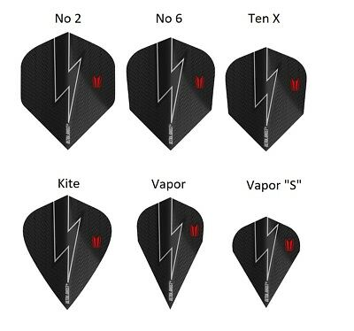 Phil Taylor Power G5 Ultra Ghost Dart Flights by Target - All Shapes