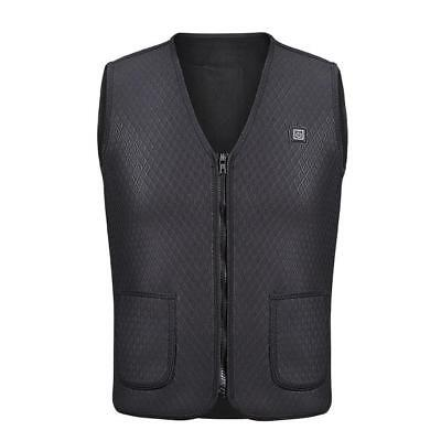 Heater Vest Heated Jacket Heating Winter Clothes Men Thermal Outdoor Hiking