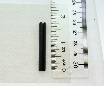 "Spring Pin ( Roll Pin ) ~ 1/4 inch X 1 3/4"" length ~ Heat Treated Spring Steel"