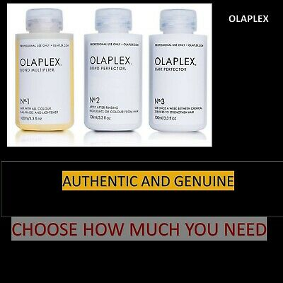 Olaplex 1,2& 3 - Choose How Much You Need - Free 1St Class Post