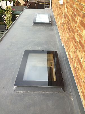 Skylight Flat Glass Flat Rooflight - Double Glazed - All Sizes