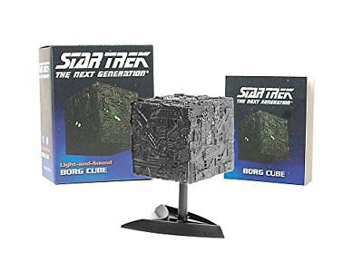 Miniature Editions: Star Trek: Light-And-Sound Borg Cube-Chip Carter