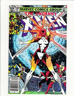 Uncanny X-Men #164 Carol Danvers Becomes Binary! 1982 Captain Marvel Movie Key!