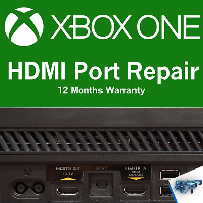 Microsoft Xbox one / s HDMI Port Repair service **MOTHERBOARD ONLY**