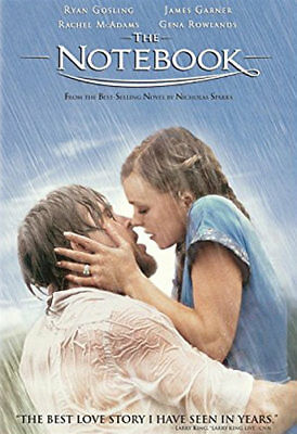 The Notebook (DVD, 2005) - Very Good