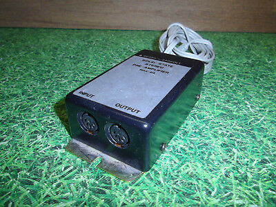 solid state stereo pre- amplifier 5pol antik 50er Jahre