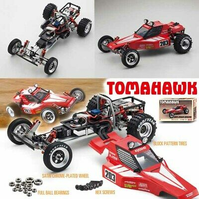 Kyosho 30615B 1/10 Tomahawk Off Road Racer Buggy Kit w/ Clear Body