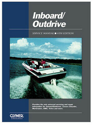 CLYMER INBOARD/OUTDRIVE SERVICE Manual Chrysler Evinrude