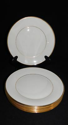"6 Lenox Eternal Made In Usa 10 5/8"" Dinner Plates"