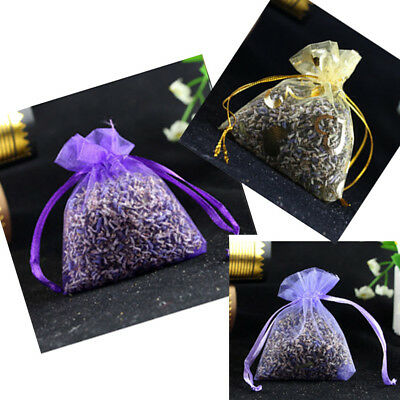 5x Real Dry Lavender Organic Dried Flower Sachet Bud Bloom Bag Scent Fragrance