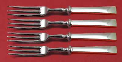 Continental by International Sterling Silver Fruit Fork Set 4-Piece Custom 6""