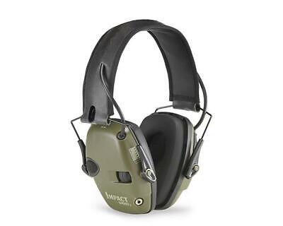 Genuine Howard Leight Impact Sport Electronic Earmuff Class 4 Olive Green
