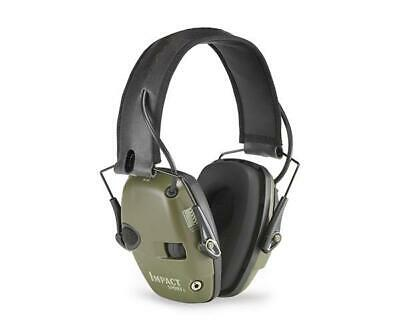 Howard Leight Impact Sport Electronic Ear Muffs SNR 25DB Class 4 Olive Green #10