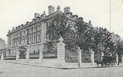 CE-483 NY, New York Andrew Carnegie Residence Home Undivided Back Postcard