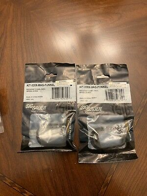 SIG SAUER P320 X-Series X-Carry X5 Magwell Funnel And Grip Weight OEM