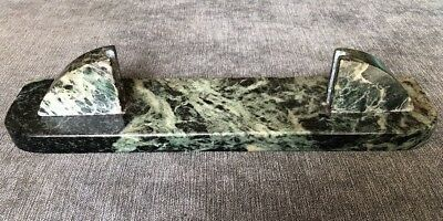 Stunning Genuine Art Deco Green Marble Photograph Or Picture Holder