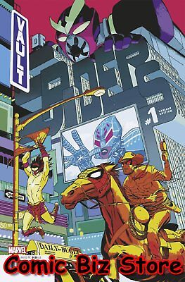 Vault Of Spiders #1 (Of 2) (2018) 1St Printing Martin Variant Cover ($4.99)