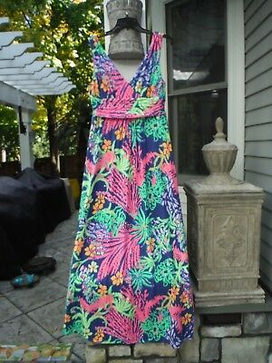 Nwt Lilly Pulitzer Sloane Maxi Dress Size L Absolutely