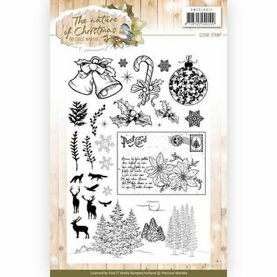 Precious Marieke clear stamps The nature of Christmas PMCS10021