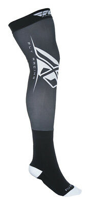 Fly Racing Knee Brace Sock Black/White